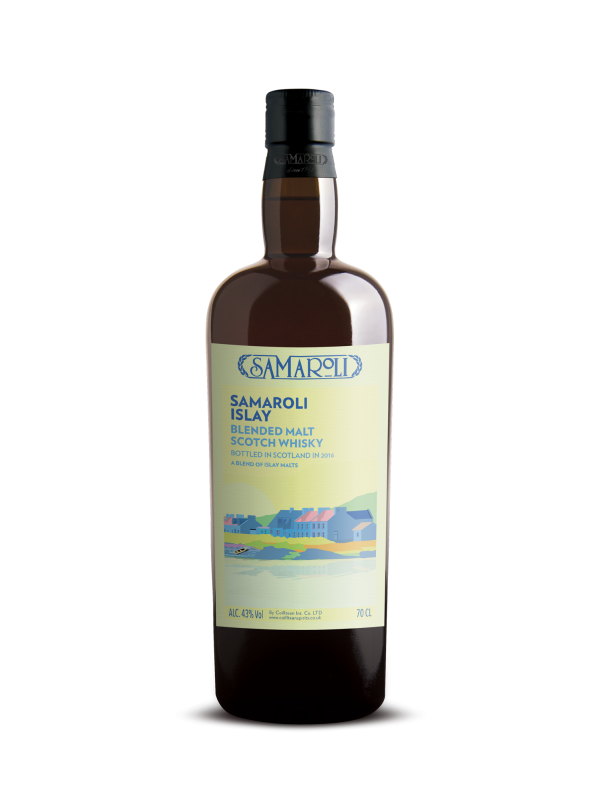 Samaroli Islay 2016 Edition Blended Malt Scotch Whisky 43% 70cl-30