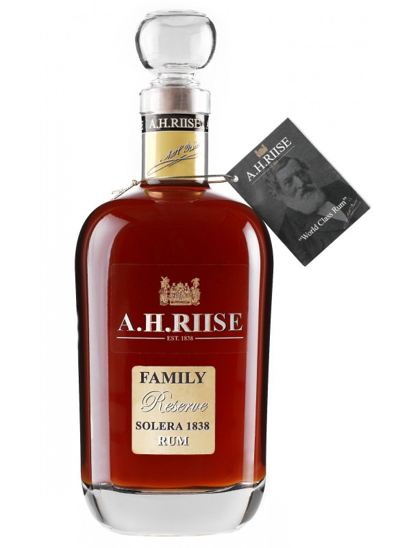 A.H. Riise Family Reserve Solera 1838 Rum 42% 70cl Rom fra Caribien-30