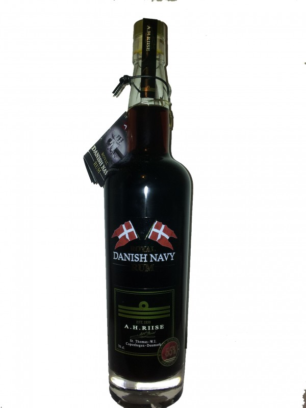 A.H. Riise Royal Danish Navy Strength Rum 55% 70cl Rom fra Caribien-30