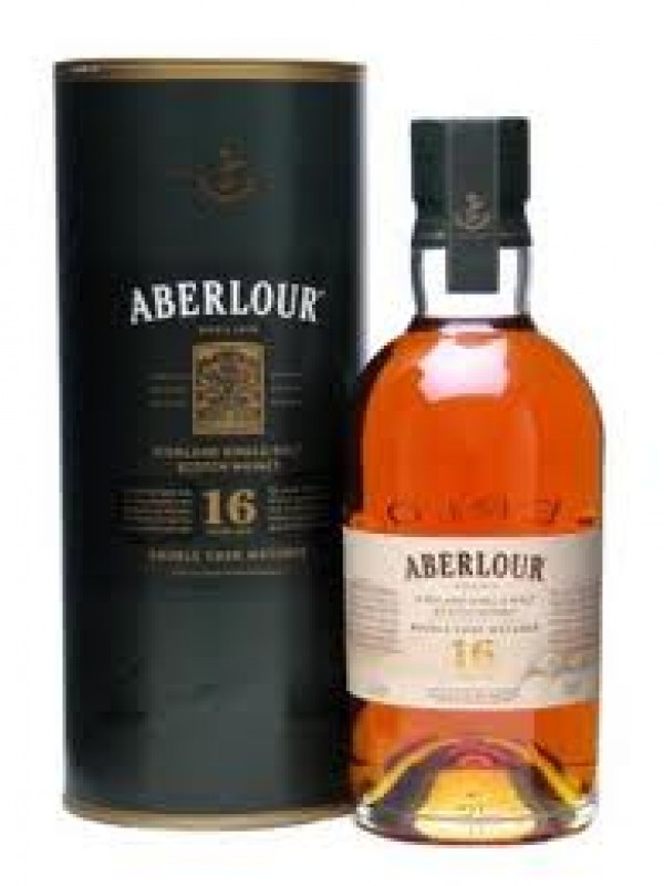Aberlour 16 år Double Cask Matured Whisky 40% 70cl-30