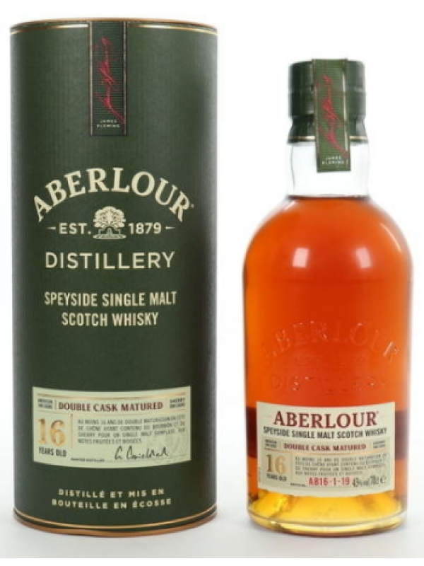 Aberlour 16 år Double Cask Matured Whisky - French Edition