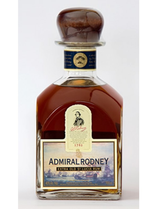 Admiral Rodney Extra Old Rum 40% 70cl Rom fra St. Lucia-30