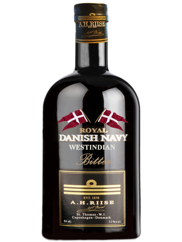 A.H. Riise Royal Danish Navy Bitter 32% 50cl-30