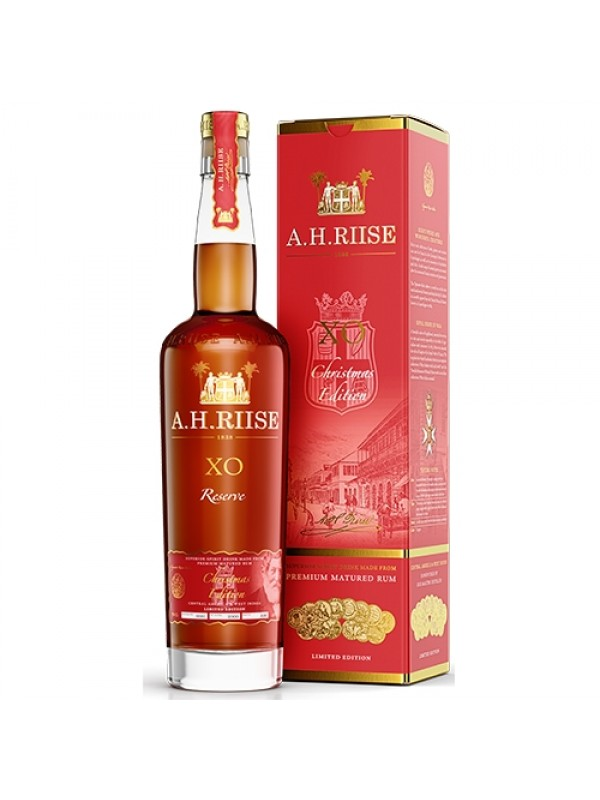 A.H. Riise Christmas Rum XO Reserve julerom