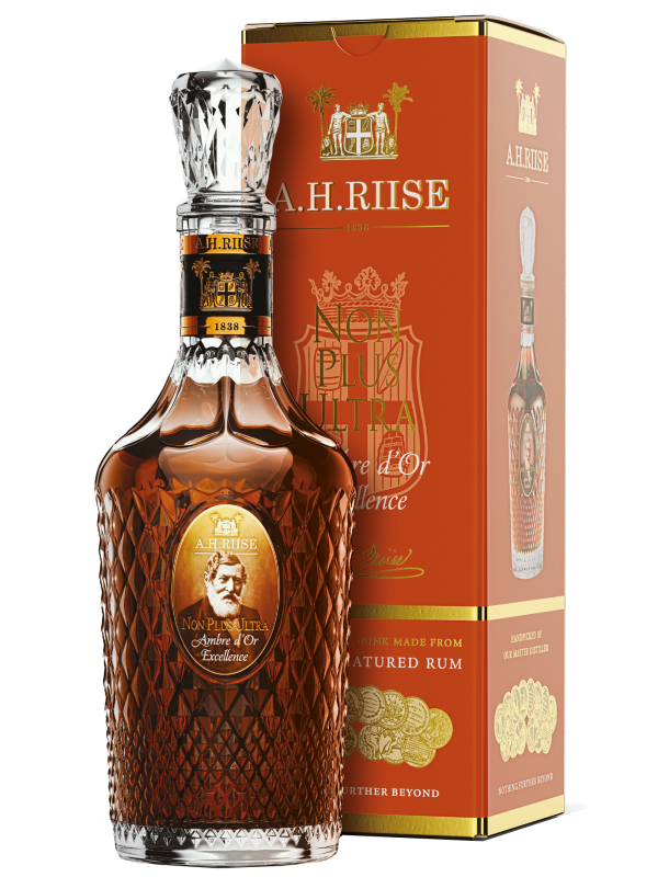 A.H. Riise Non Plus Ultra Ambre d'Or Excellence rom
