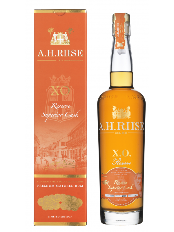 A.H. Riise XO Reserve Superior Cask