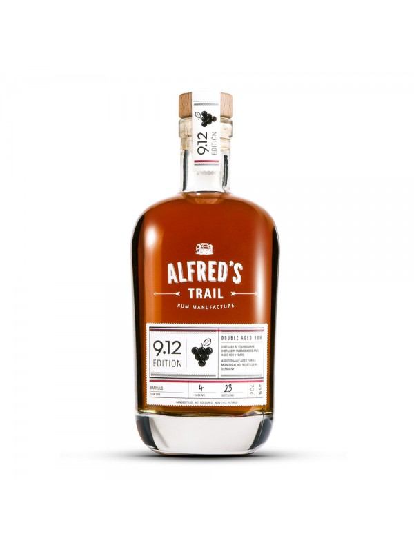 Alfreds Trail Edition 9.12 Barbados Rum 45% 70cl-30
