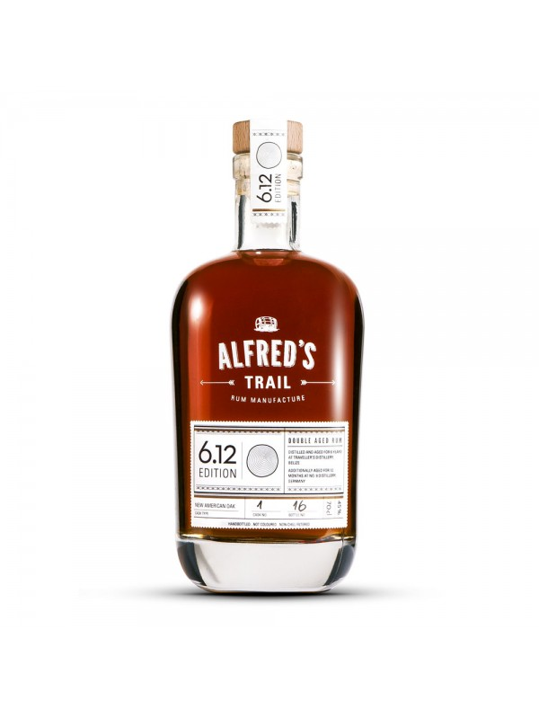 Alfreds Trail Edition 6.12 Belize Rum 45% 70cl-30