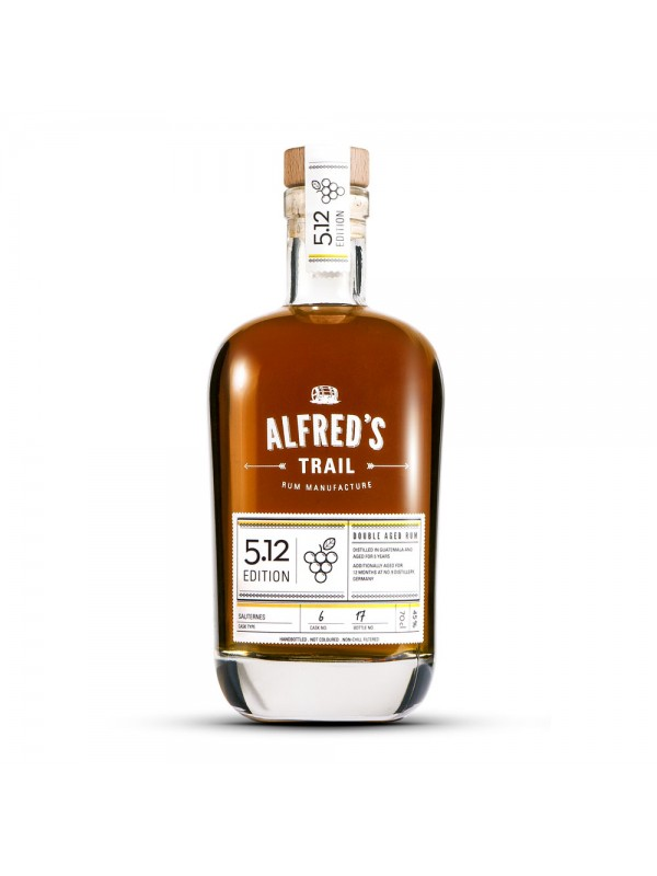 Alfreds Trail Edition 5.12 Guatemala Rum 45% 70cl-30