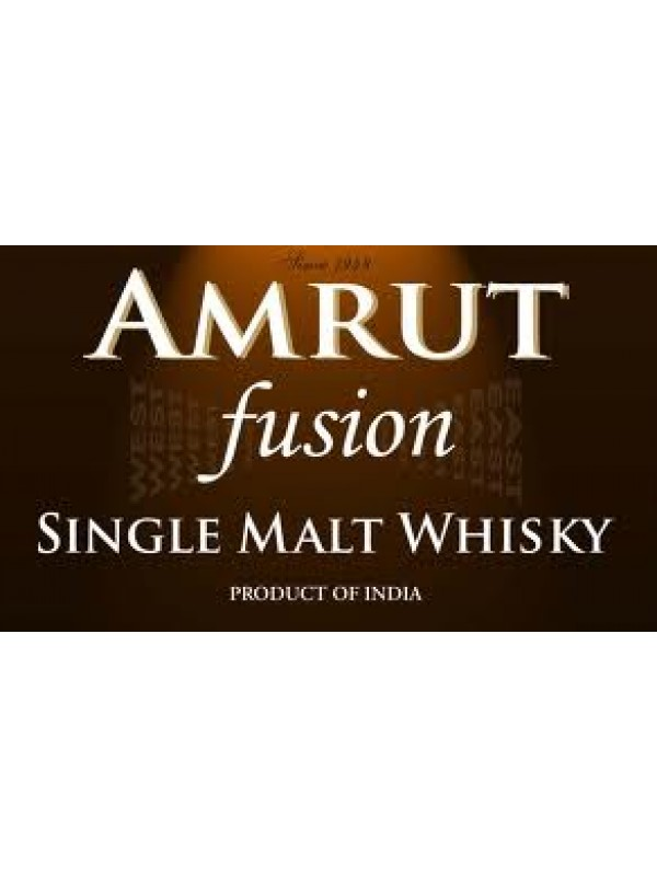 Amrut Fusion Single Malt 50% 70cl Whisky fra Indien-30