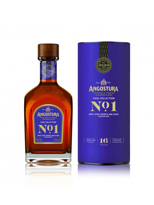 Angostura Cask Collection No.1 French Oak Rum 16 år 40% 70cl Edition 2-30