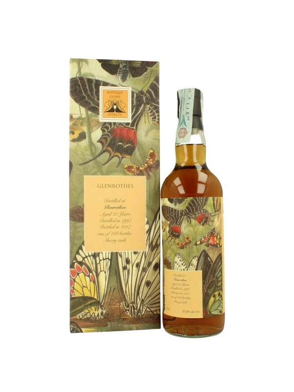 Antique Lions of Spirits 1997 Glenrothes Whisky 20 år 57% 70cl - Whisky fra Scotland