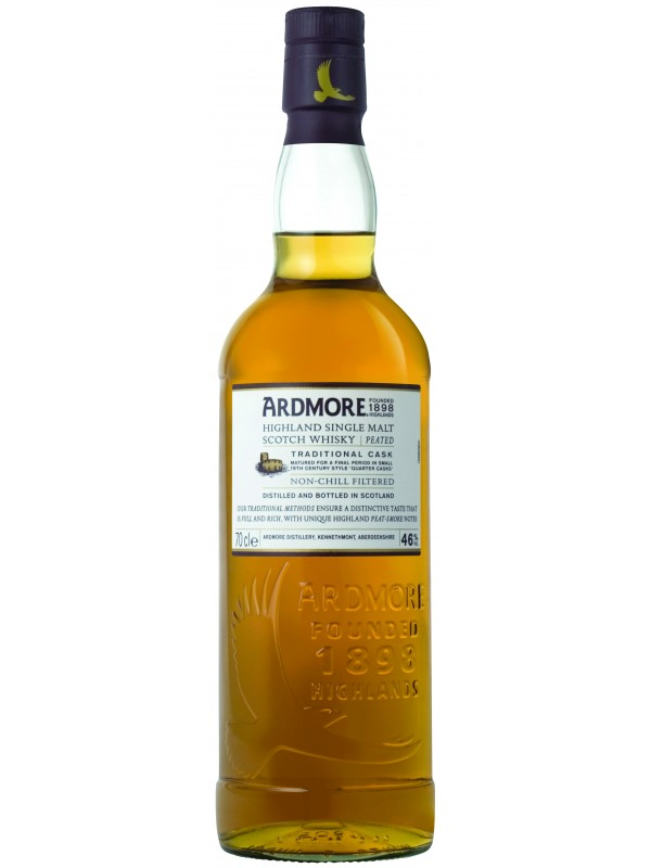 Ardmore Traditional Cask Single Malt Whisky 46% 70cl-30