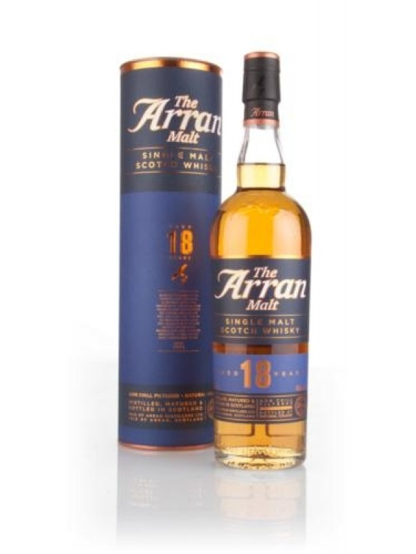 The Arran 18 års Limited Edition Single Island Malt Whisky