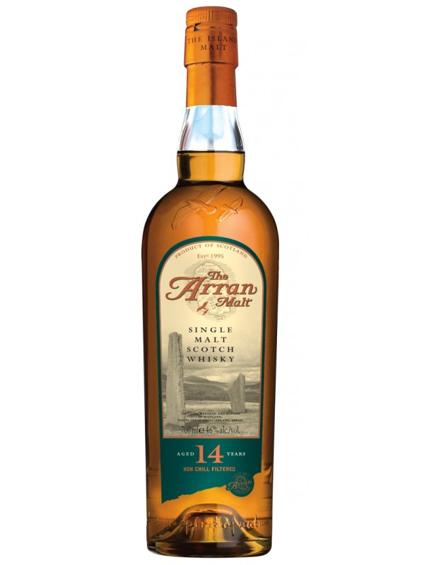 The Arran 14 års Single Island Malt Whisky 46% 70cl-30