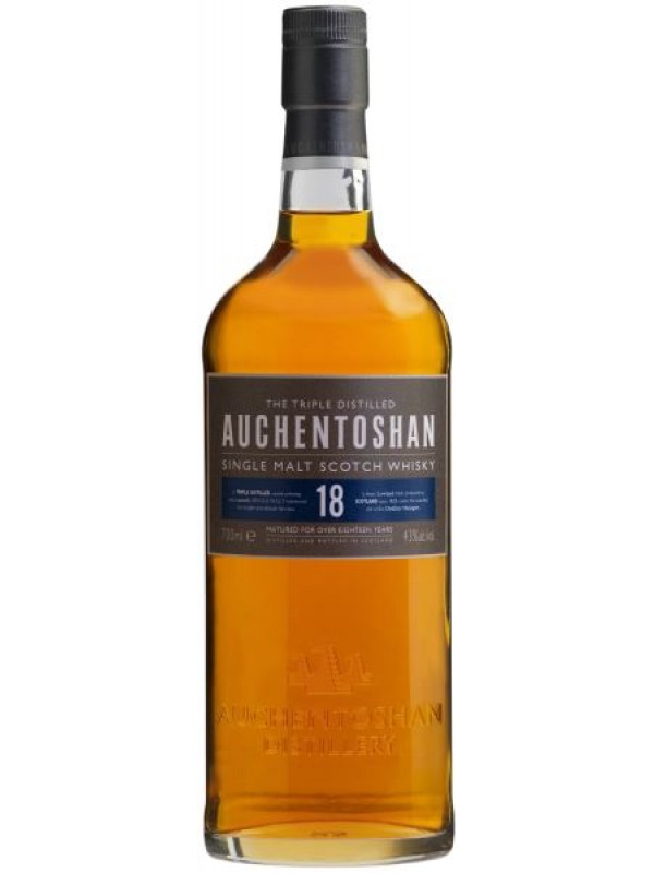 Auchentoshan 18 år Single Malt Whisky 43% 70cl-30