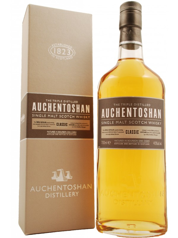 Auchentoshan Classic single malt whisky 40% 70cl-30