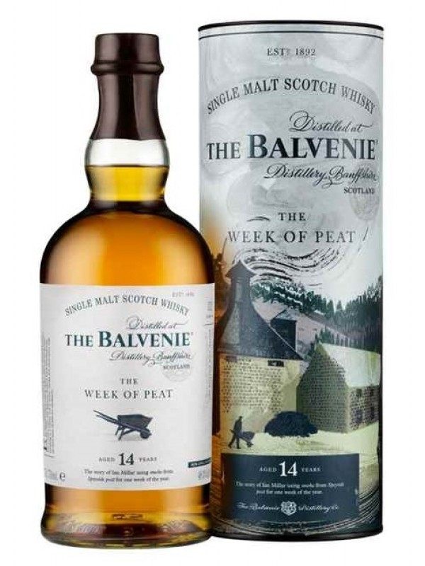 The Balvenie Week of Peat 14 år single malt whisky