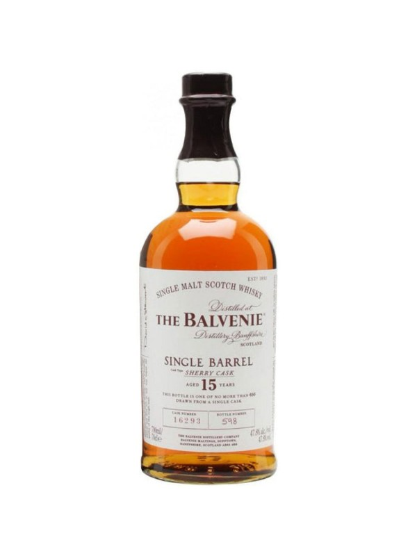 The Balvenie Single Barrel Sherry Cask 15 års whisky