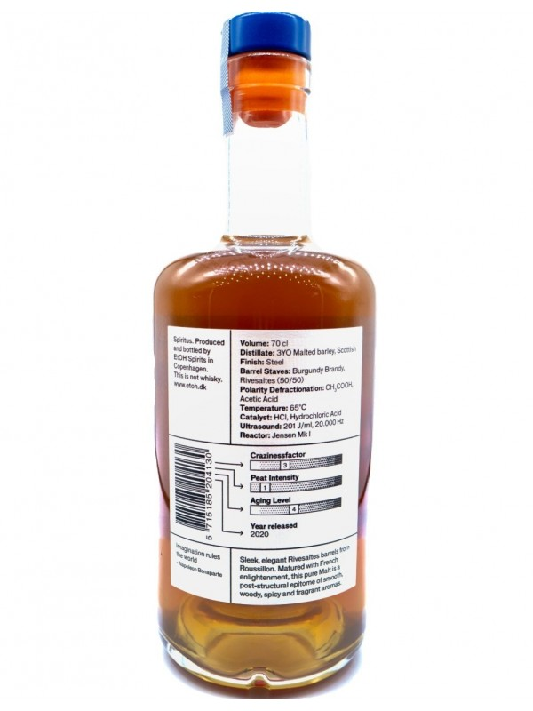 Etoh Been Apart Pure Malt This is not Whisky - front