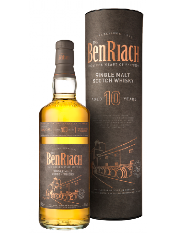 BenRiach 10 år Single Malt Scotch Whisky 43% 70cl-31