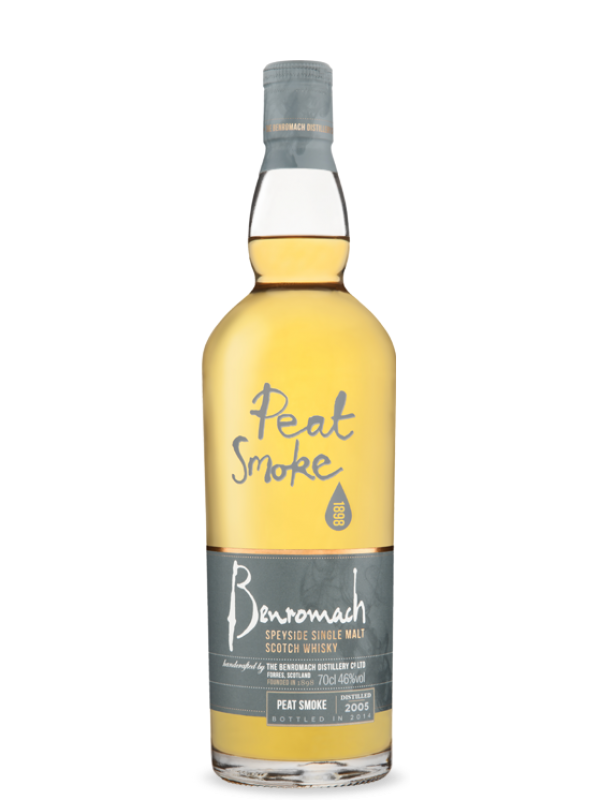 Benromach 2007 Peat Smoke Whisky flaske