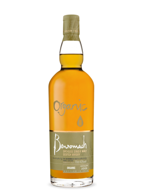 Benromach Organic 2010 Whisky 43% 70cl-30