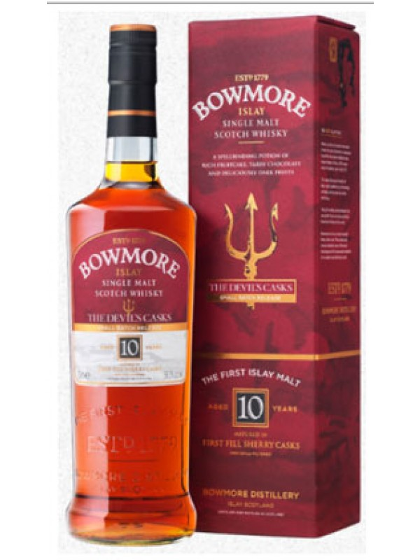 Bowmore Devils Cask III Single Islay Malt Whisky 56,7% 70cl-30