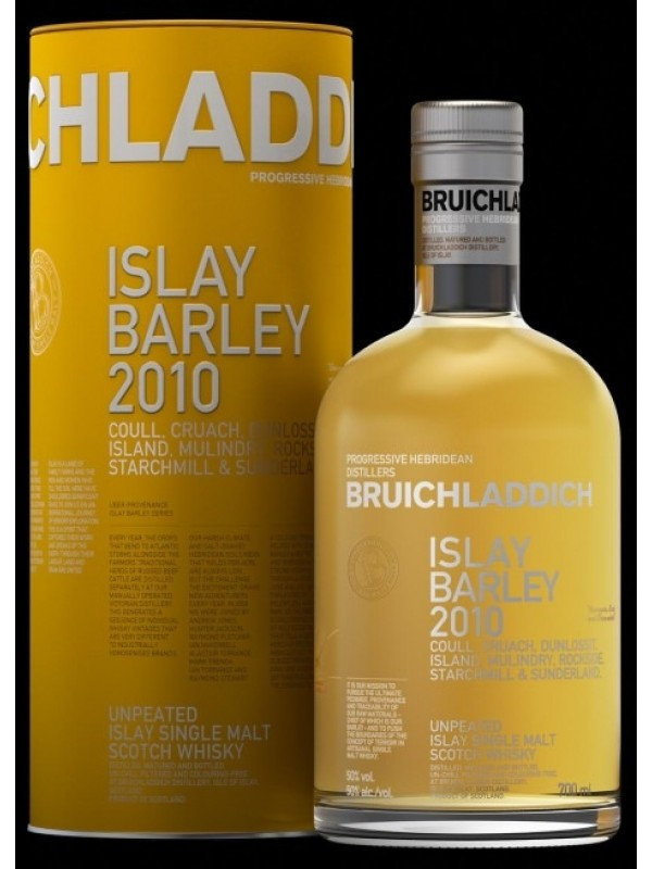 Bruichladdich Islay Barley 2010 Unpeated whisky