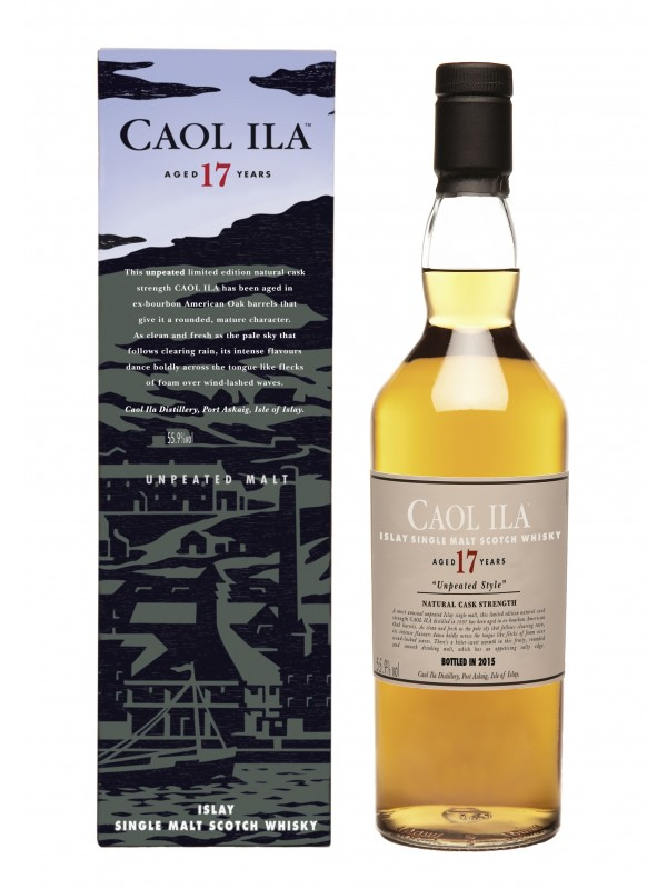 Caol Ila 17 år Single Islay Malt Whisky