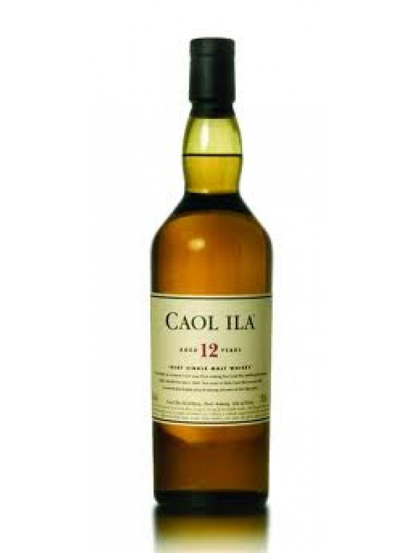 Caol Ila 12 år Single Islay Malt Whisky 43% 70cl-30