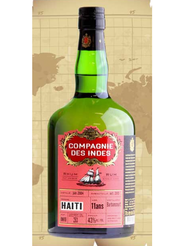 Compagnie Des Indes Haiti 11 års rom 43%