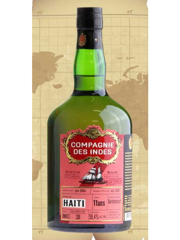 Compagnie Des Indes Haiti 11 års rom 59,4% 70cl
