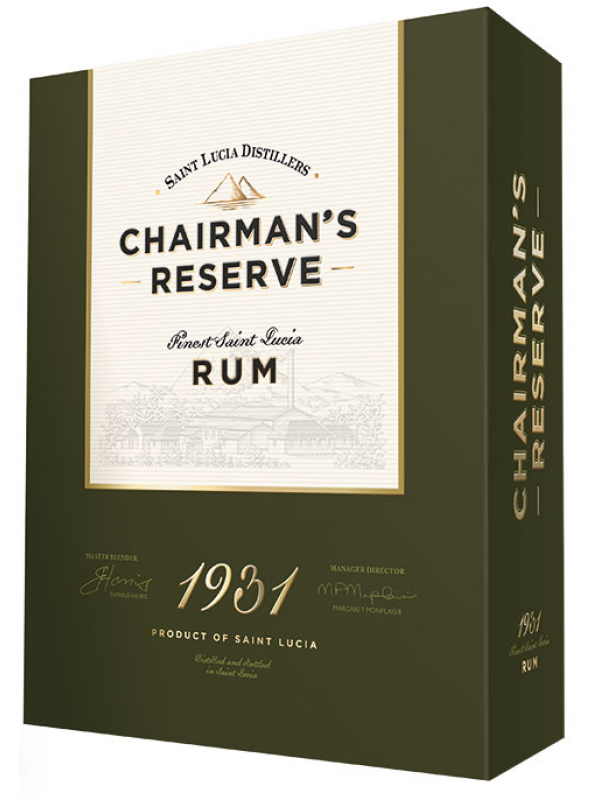 Chairman's Reserve 1931 - Rom fra St. Lucia Distillers 46% 70cl