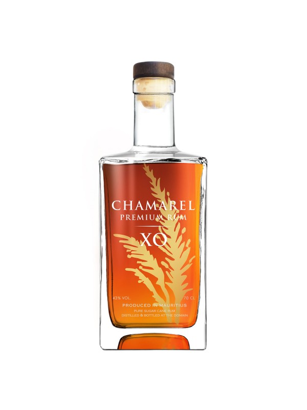 Chamarel XO 43% 70cl Rom fra Mauritius-30