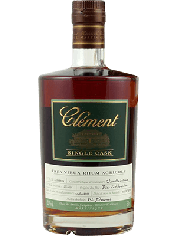 Clément Single Cask Vanille Intense Rhum 2003 41,5% 50cl Rom fra Martinique-30
