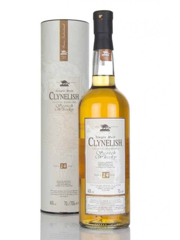 CLYNELISH 14 ÅR SINGLE HIGHLAND MALT WHISKY