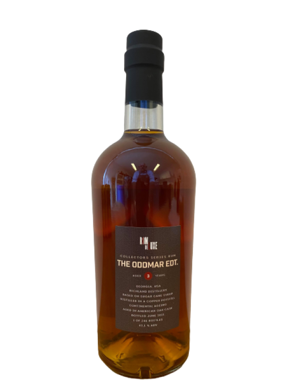 Collectors Series The Oddmar Edition Richland Rum RomdeLuxe