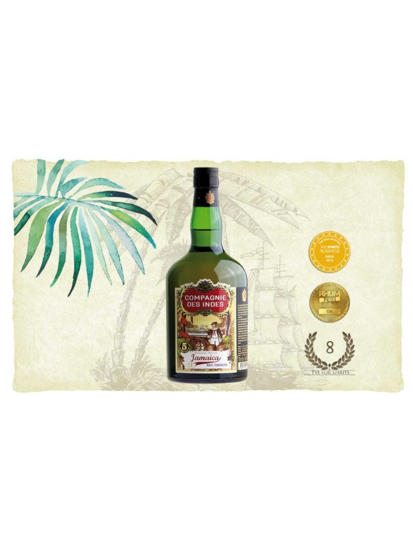 Compagnie des Indes Jamaica Navy Strength Rum 57% 70cl-30