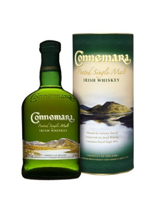 Connemara Peated Single Malt Irish Whiskey 40% 70cl-30