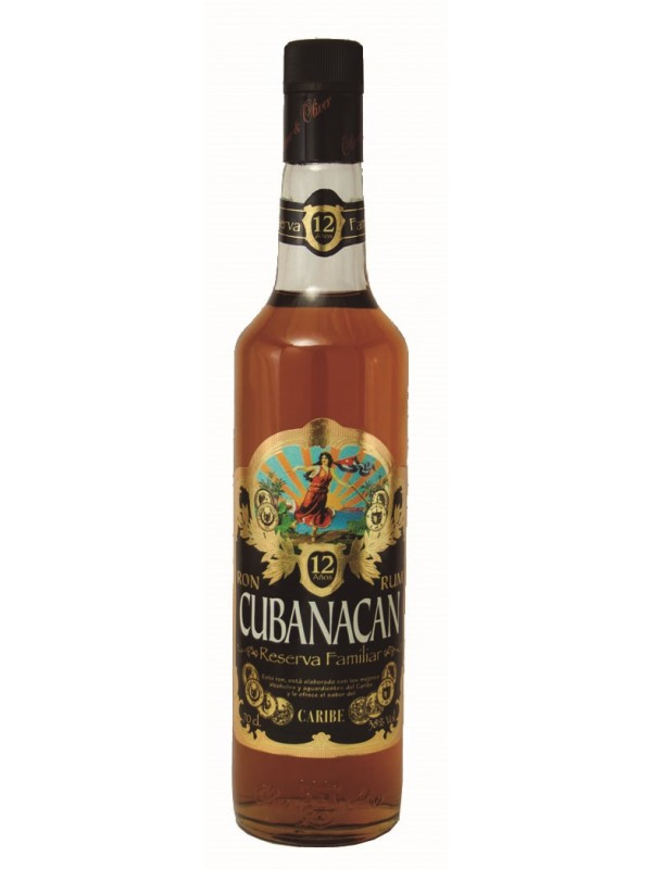 Cubanacan Reserva Familiar 12 år 38% 70cl Rom fra Den Dominikanske Republik-30