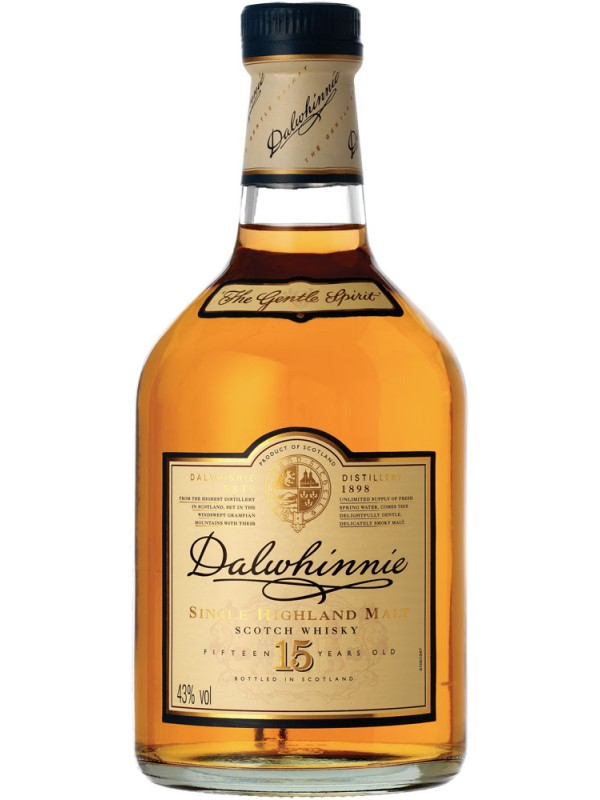 Dalwhinnie 15 år Single Malt Whisky 43% 70cl-30