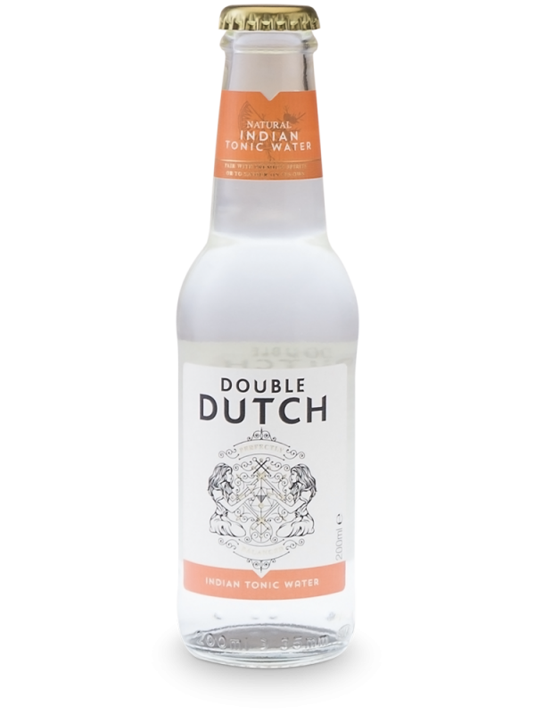 Double Dutch Indian Tonic 20 cl - Premium Tonic Water til gin