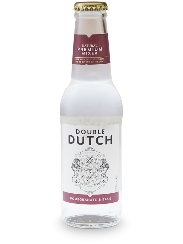 Double Dutch Pomegranate & Basil Tonic 20 cl - Premium Tonic Water til gin
