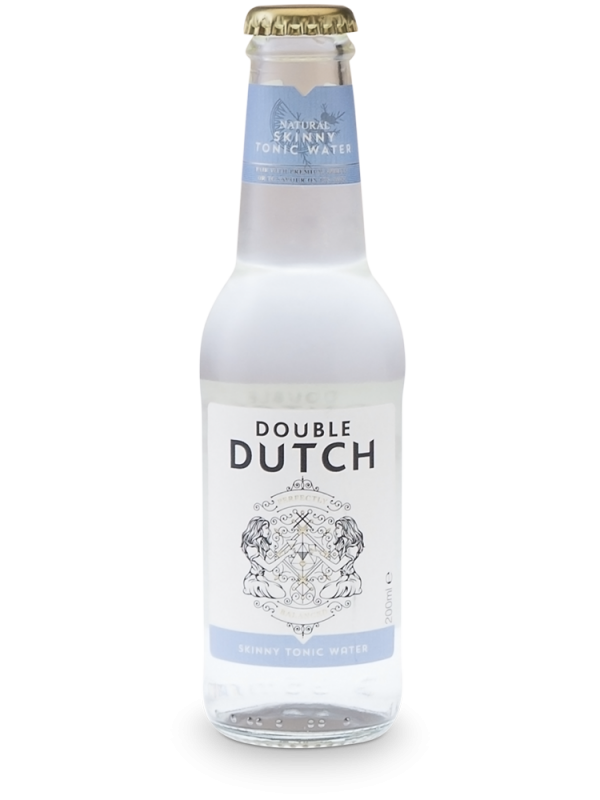 Double Dutch Skinny Tonic 20 cl - Premium Tonic Water til gin