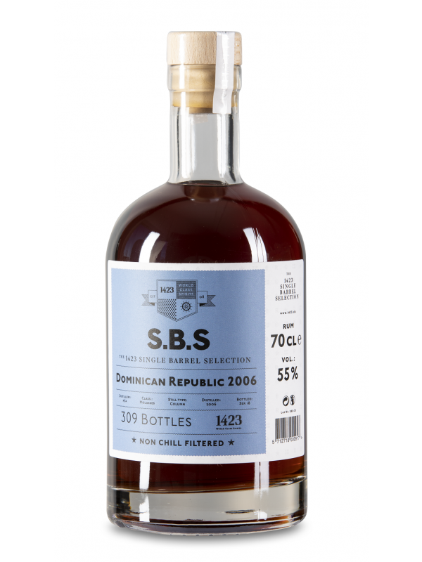 SBS Dominican Republic 2006 Single Barrel Selection Rum