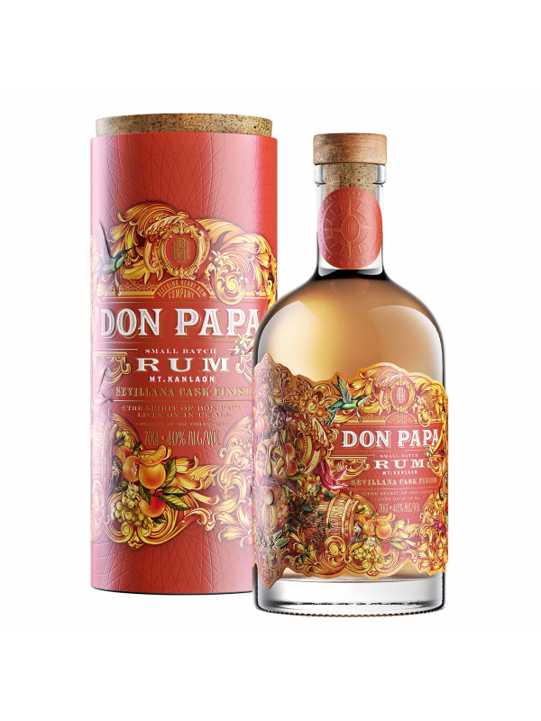 Don Papa Rum Sevillana Cask Finish rom
