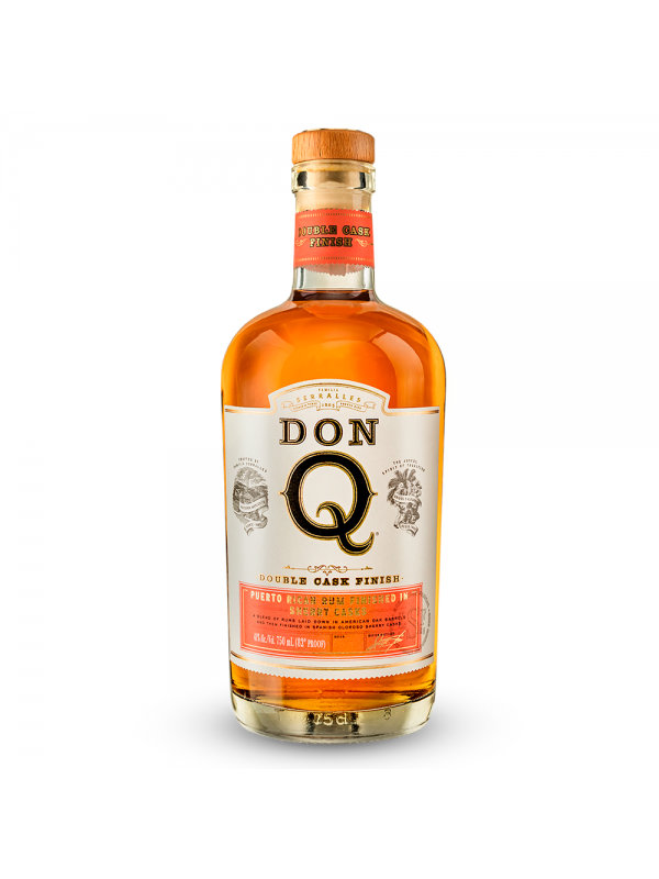 Don Q Double Aged Rum Sherry Cask Finish rom