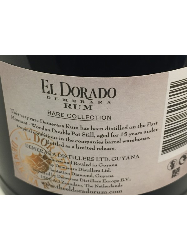 El Dorado Port Mourant 1999 Rare Collection 61,4% 70cl-30
