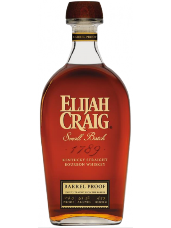 Elijah Craig Barrel Proof Kentucky Straight Bourbon Whiskey